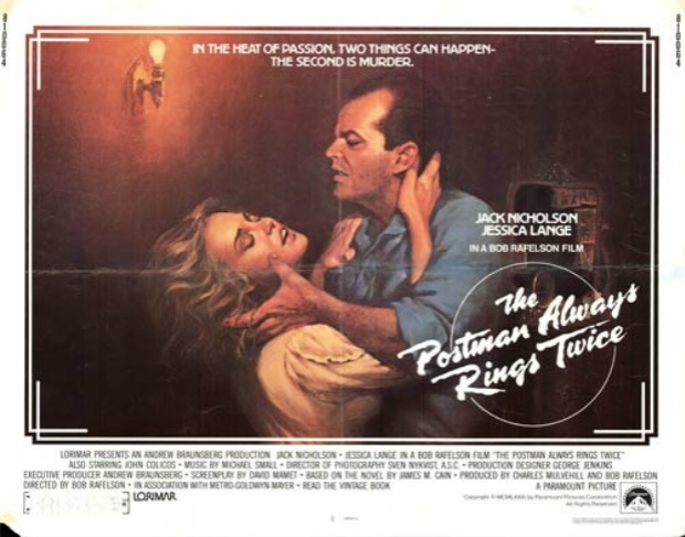 Postman Always Rings Twice 1981