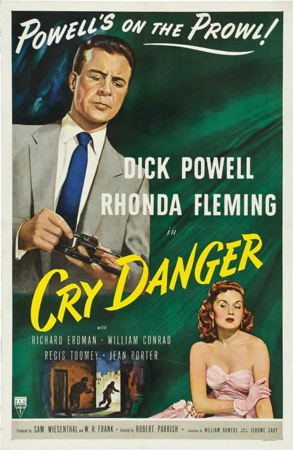 cry danger dick powell